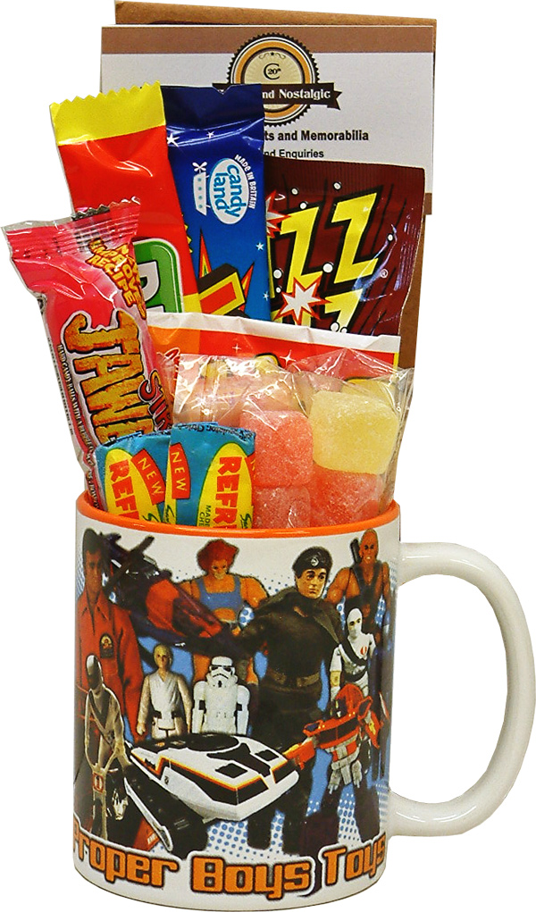 Boys Toys From The 80s : S boys toys mug with or without a choc selection